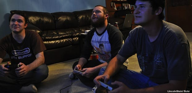 Guys Playing Video Games