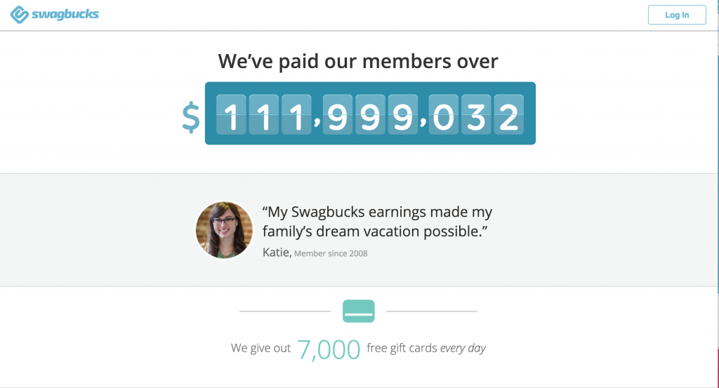 Swagbucks Shot