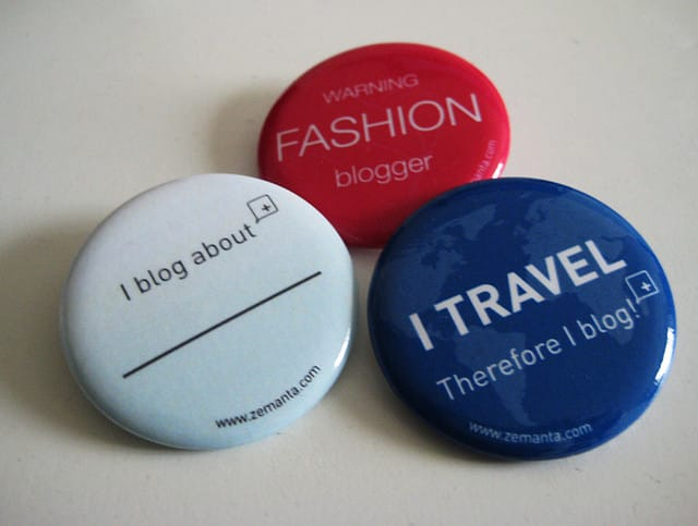 Image: Blogging buttons