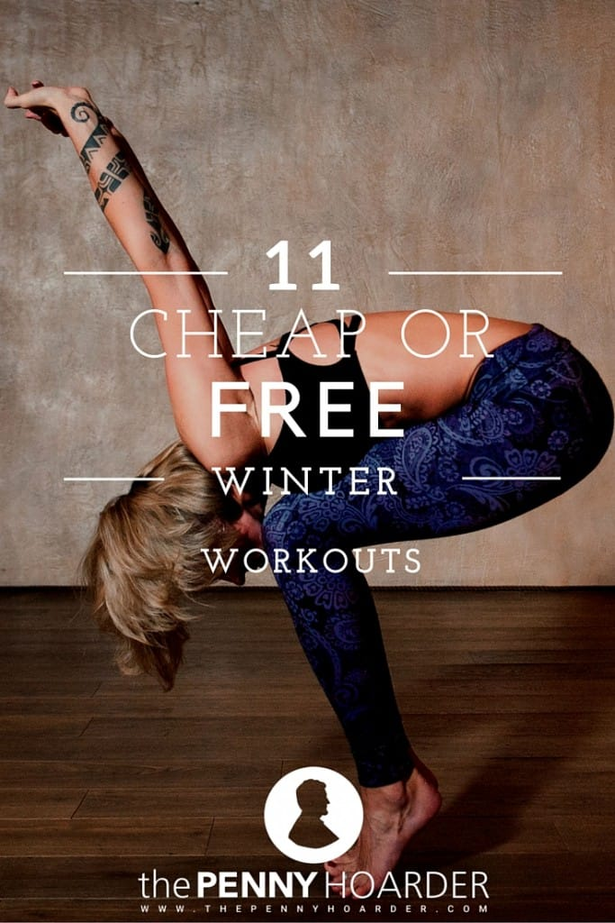 Wondering how to stay in shape while it's cold outside? Try one or more of these low-cost winter workouts.