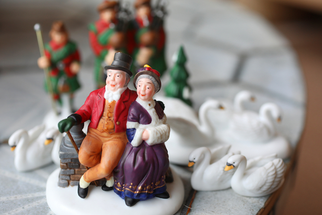 Carson Kohler's 12 Days of Christmas: Dickens Village Collection. Photo by Sharon Steinmann / The Penny Hoarder