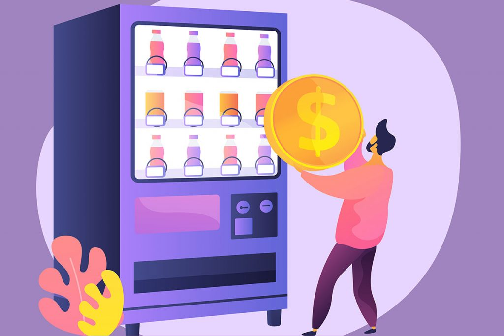How to Make a Side Income Running a Vending Machine Business